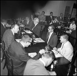 Primary view of object titled '[Accounting Banquet, 1961]'.