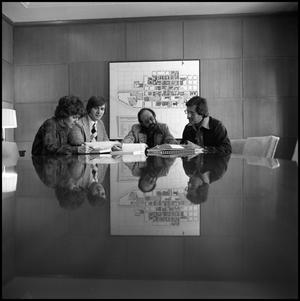 Primary view of object titled '[Administration Meeting for President's Report, 1976]'.