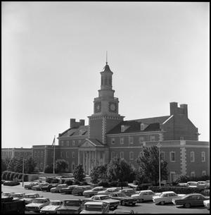 Primary view of object titled '[Administration Building from the northwest]'.