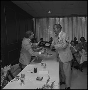 Primary view of object titled '[Alumni Awards Luncheon, April 26, 1975]'.