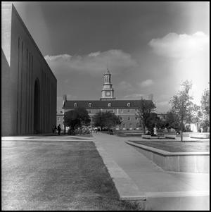 Primary view of object titled '[Administration Building from the south]'.