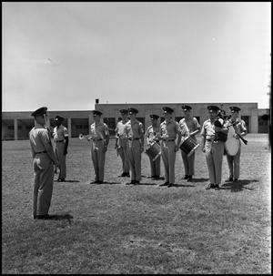 Primary view of object titled '[AFROTC Falcon Band]'.