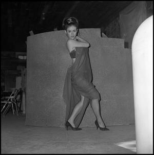 Primary view of object titled '[Alpha Psi Omega member Pam Purvis as Gypsy Rose Lee, 1967]'.