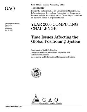 Primary view of object titled 'Year 2000 Computing Challenge: Time Issues Affecting the Global Positioning System'.