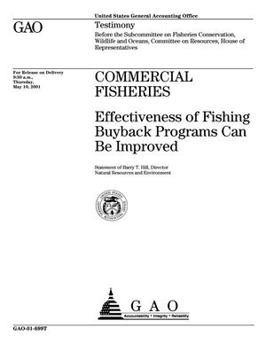 Primary view of object titled 'Commercial Fisheries: Effectiveness of Fishing Buyback Programs Can Be Improved'.