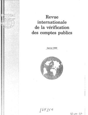 Primary view of object titled 'International Journal of Government Auditing, January 2000, Vol. 27, No. 1 (French Version)'.