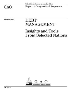 Primary view of object titled 'Debt Management: Insights and Tools From Selected Nations'.