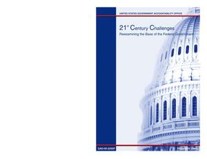 Primary view of object titled '21st Century Challenges: Reexamining the Base of the Federal Government'.