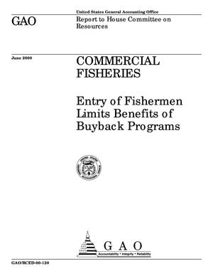 Primary view of object titled 'Commercial Fisheries: Entry of Fishermen Limits Benefits of Buyback Programs'.
