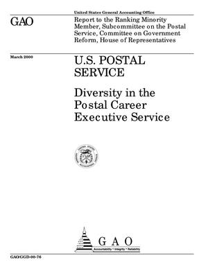 Primary view of object titled 'U.S. Postal Service: Diversity in the Postal Career Executive Service'.