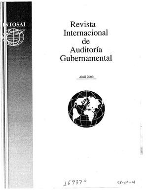 Primary view of object titled 'International Journal of Government Auditing, April 2000, Vol. 27, No. 2 (Spanish Version)'.