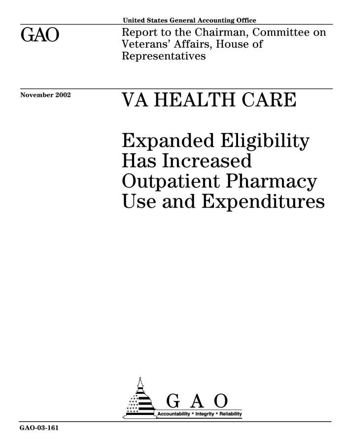VA Health Care: Expanded Eligibility Has Increased