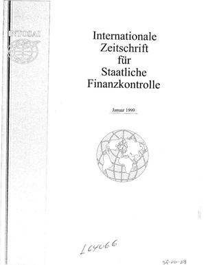 Primary view of object titled 'International Journal of Government Auditing, January 1, 1999, Vol. 26, No. 1 (German Version)'.