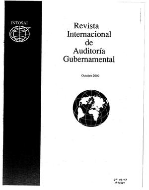 Primary view of object titled 'Revista Internacional de Auditoria Gubernamental, Octubre 2000, Vol. 27, No. 4'.