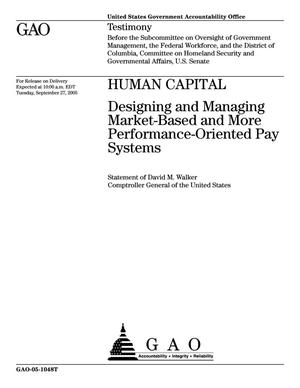 Primary view of object titled 'Human Capital: Designing and Managing Market-Based and More Performance-Oriented Pay Systems'.