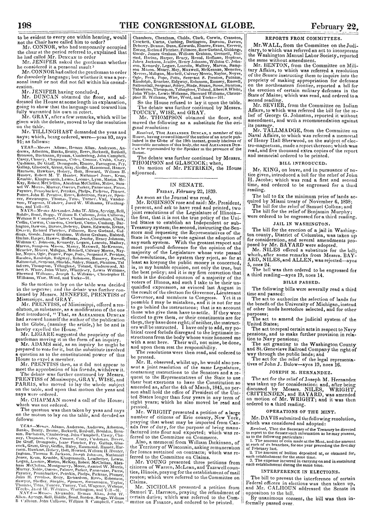 The Congressional Globe, Volume 7: Twenty-Fifth Congress, Third Session                                                                                                      [Sequence #]: 217 of 687