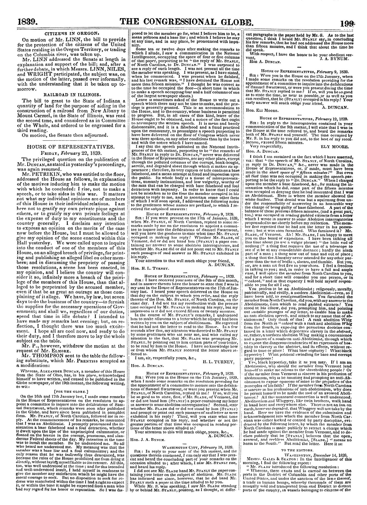 The Congressional Globe, Volume 7: Twenty-Fifth Congress, Third Session                                                                                                      [Sequence #]: 218 of 687