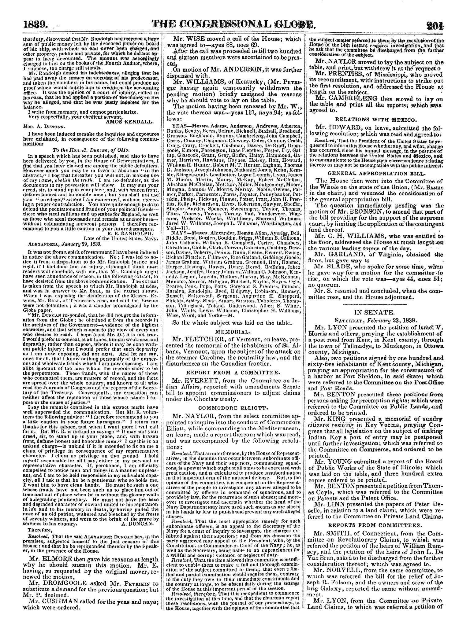 The Congressional Globe, Volume 7: Twenty-Fifth Congress, Third Session                                                                                                      [Sequence #]: 220 of 687