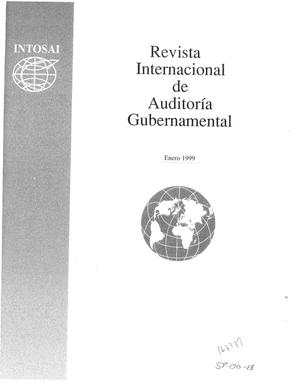 Primary view of object titled 'International Journal of Government Auditing, January 1, 1999, Vol. 26, No. 1 (Spanish Version)'.