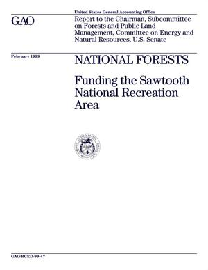 Primary view of object titled 'National Forests: Funding the Sawtooth National Recreation Area'.