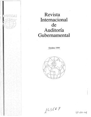 Primary view of object titled 'International Journal of Government Auditing, October 1999, Vol. 26, No. 4 (Spanish Version)'.