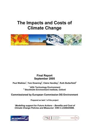 The Impacts and Costs of Climate Change