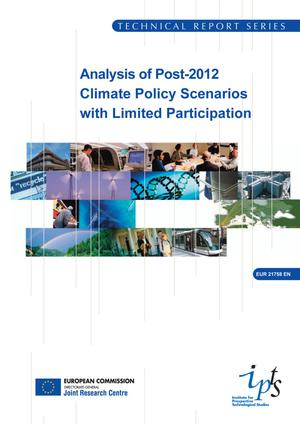 Primary view of object titled 'Analysis of Post-2012 Climate Policy Scenarios with Limited Participation'.