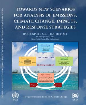 Primary view of object titled 'Towards New Scenarios for Analysis of Emissions, Climate Change, Impacts, and Response Strategies'.
