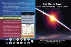 "Primary view of object titled 'The Ozone Layer: Ozone Depletion, Recovery in a Changing Climate, and the ""World Avoided""'."