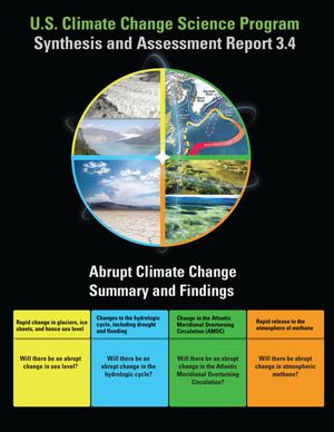 Primary view of object titled 'U.S. Climate Change Science Program Synthesis and Assessment Report 3.4: Abrupt Climate Change Summary and Findings'.