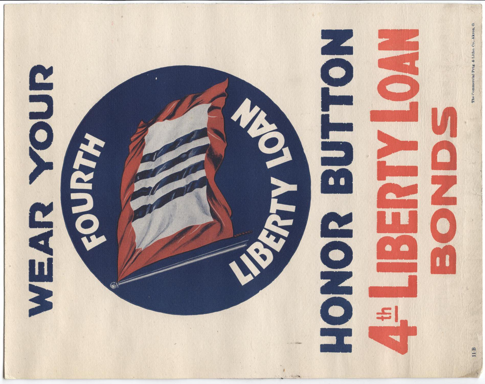 Wear your honor button, 4th Liberty Loan bonds                                                                                                      [Sequence #]: 1 of 1
