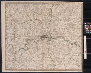 Primary view of object titled 'The Environs, or Countries Twenty Miles Round London'.