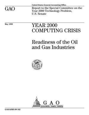 Primary view of object titled 'Year 2000 Computing Crisis: Readiness of the Oil and Gas Industries'.