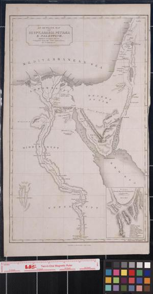 Primary view of object titled 'Travels in Egypt, Arabia Petræa, and the Holy Land.'.