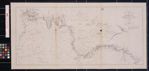 Primary view of object titled 'Detailed Map of the Rev'd Dr. Livingston's Route across Africa'.