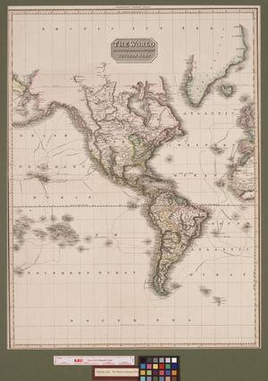 Primary view of The World on Mercator's Projection, Western Part
