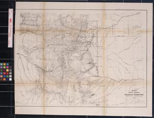Map of Public Surveys in Colorado Territory to accompany a report of the Surveyor Gen., 1863