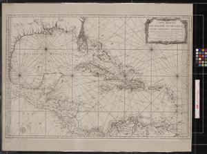 Primary view of object titled 'Carte Reduite du Golphe du Mexique, et des Isles de l'Amerique.'.