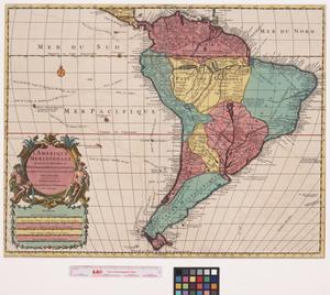 Primary view of L'Amerique meridionale: Dressée sur les Observations de Mrs. de l'Academie Royale des Sciences & quelques autres, & sur les Memoires les Plus recens