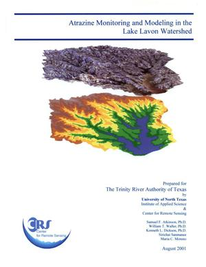 Primary view of object titled 'Atrazine Monitoring and Modeling in the Lake Lavon Watershed'.