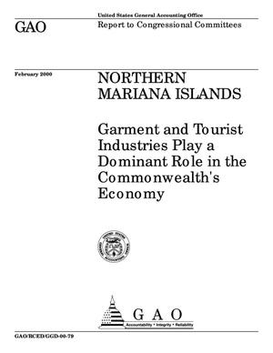 Primary view of object titled 'Northern Mariana Islands: Garment and Tourist Industries Play a Dominant Role in the Commonwealth's Economy'.