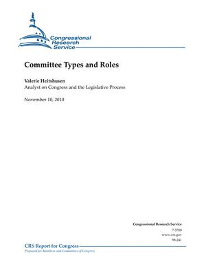 Committee Types and Roles
