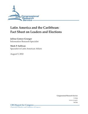 Latin America and the Caribbean: Fact Sheet on Leaders and Elections