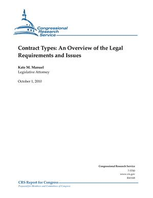 Contract Types: An Overview of the Legal Requirements and Issues