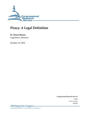 Piracy: A Legal Definition