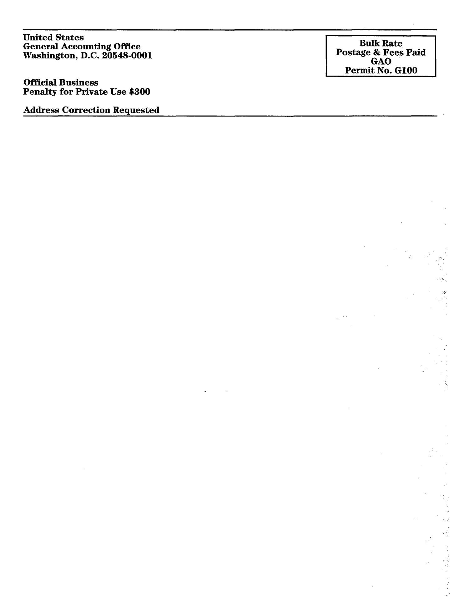 Federally Chartered Corporation: Review of the Financial Statement Audit Report for the National Safety Council for Fiscal Year 1998                                                                                                      [Sequence #]: 4 of 4