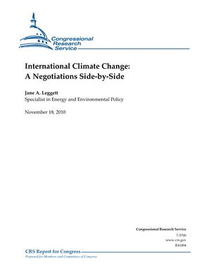 International Climate Change: A Negotiations Side-by-Side