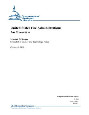 United States Fire Administration: An Overview