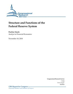 Structure and Functions of the Federal Reserve System
