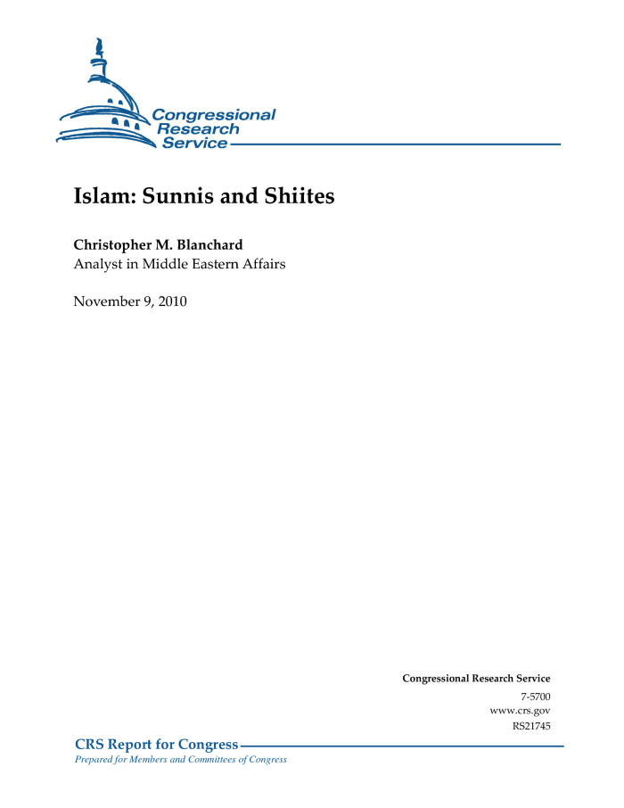what are the differences between sunni vs shiite islam